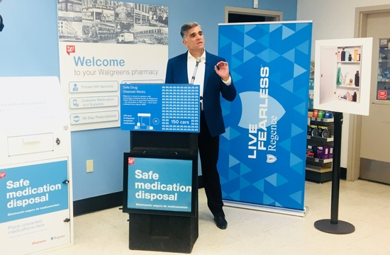 Dr Polo Regence and Walgreens partner for safe medication disposal kiosks in Washington