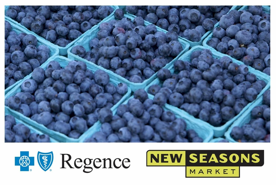 Regence New Seasons Blueberries