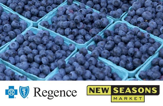 Regence and New Seasons Market Join Farmers Markets across Oregon to Increase Low Income Shoppers' Access to Fresh Fruits and Vegetables