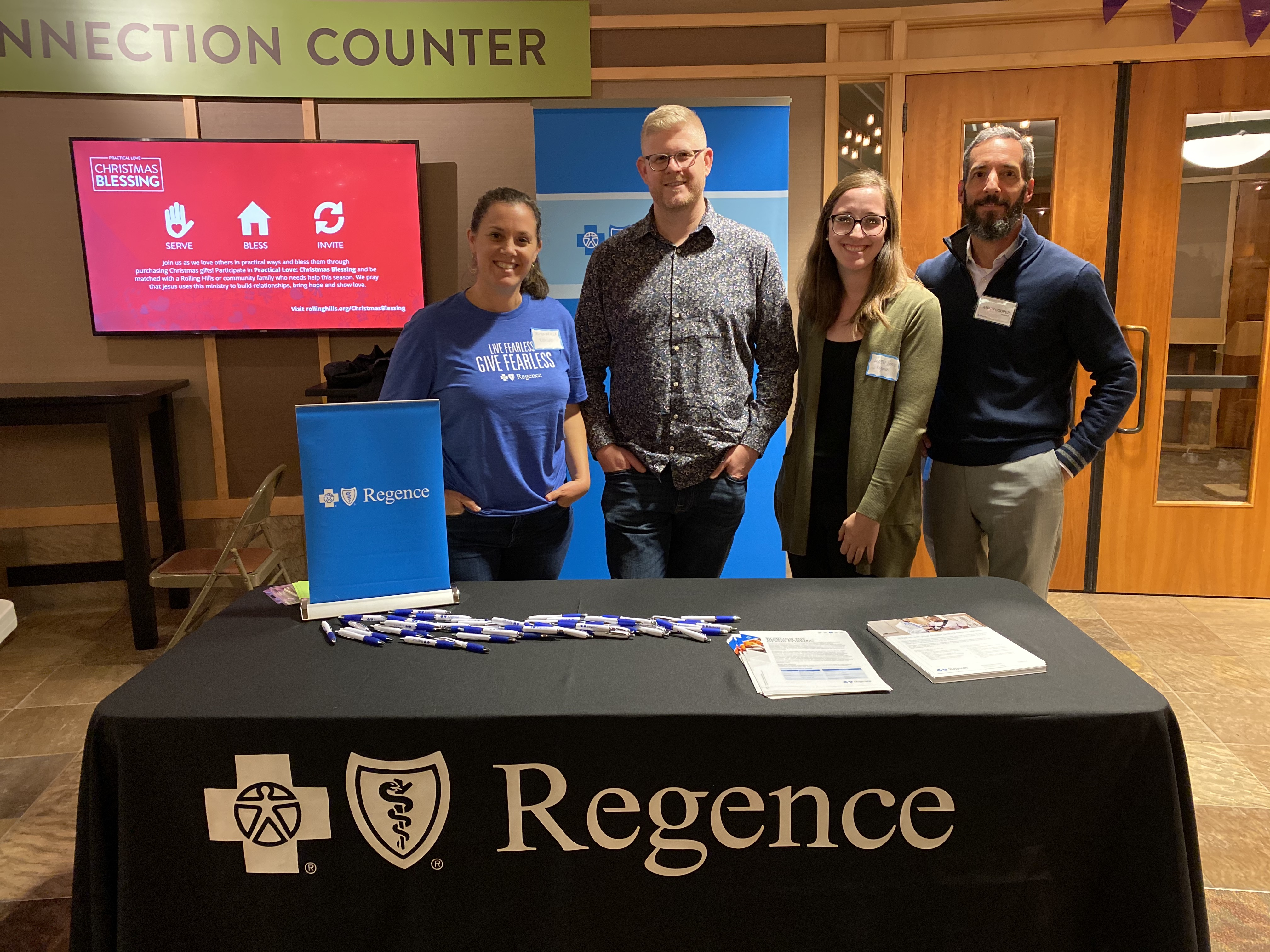 Local organizations including Regence participated in Continuum of Care resource fair