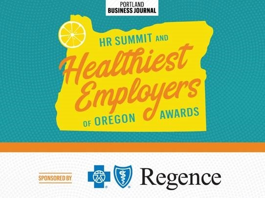 Regence sponsorship of 2019 Portland Business Journal Healthiest Employers of Oregon