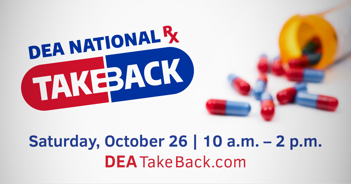 DEA Drug Take Back_October