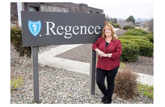 Regence BlueShield of Idaho Made By Us employee Nancy Kime