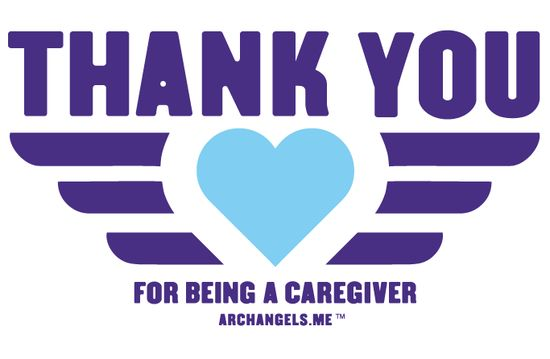 ARCHANGELS Thank you Caregiver with URL