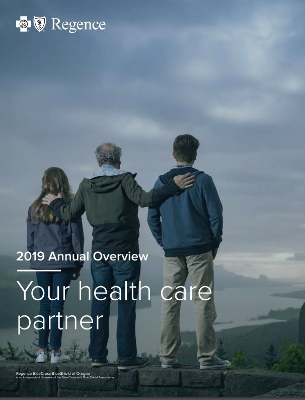 2019 Regence Oregon Annual Overview