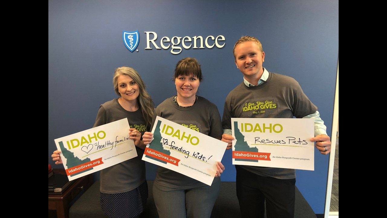Idaho Gives Regence 2019
