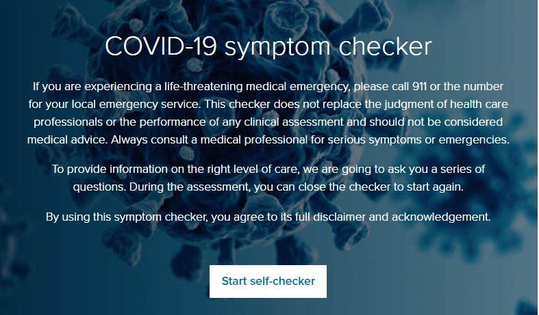 Regence COVID-19 symptom checker