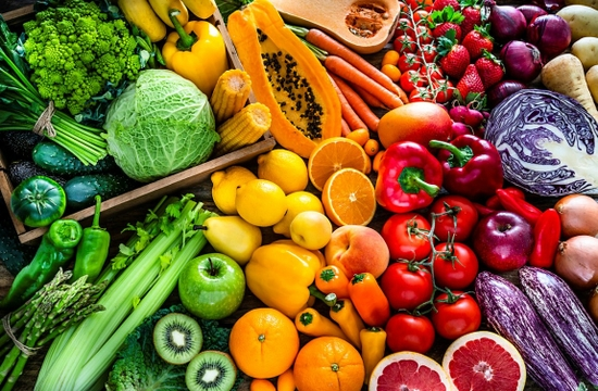 healthy diet fruits and vegetables