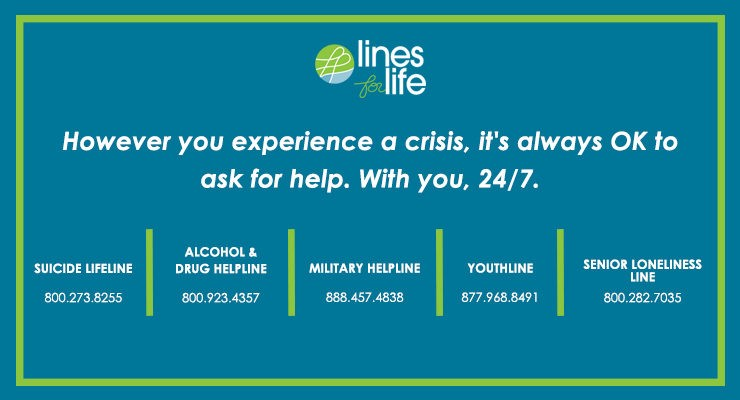 Lines for Life information