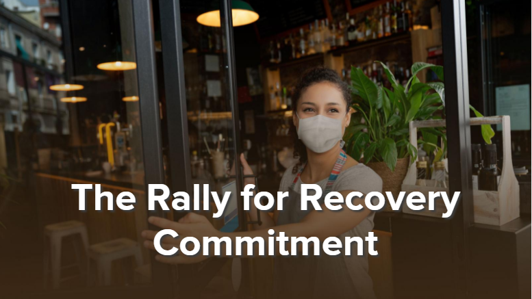 U.S. Chamber of Commerce Rally for Recovery Commitment