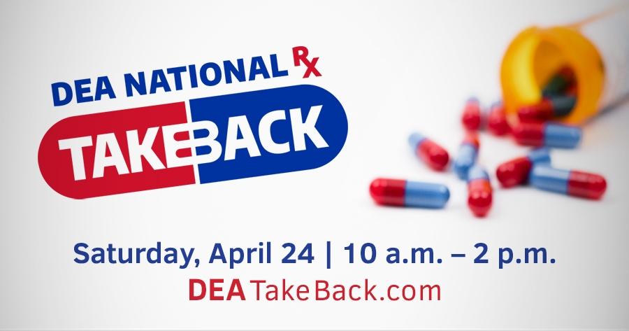DEA Drug Take Back Day 2021