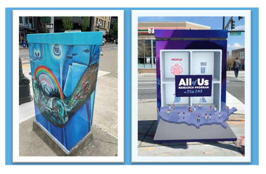 All of Us traffic boxes