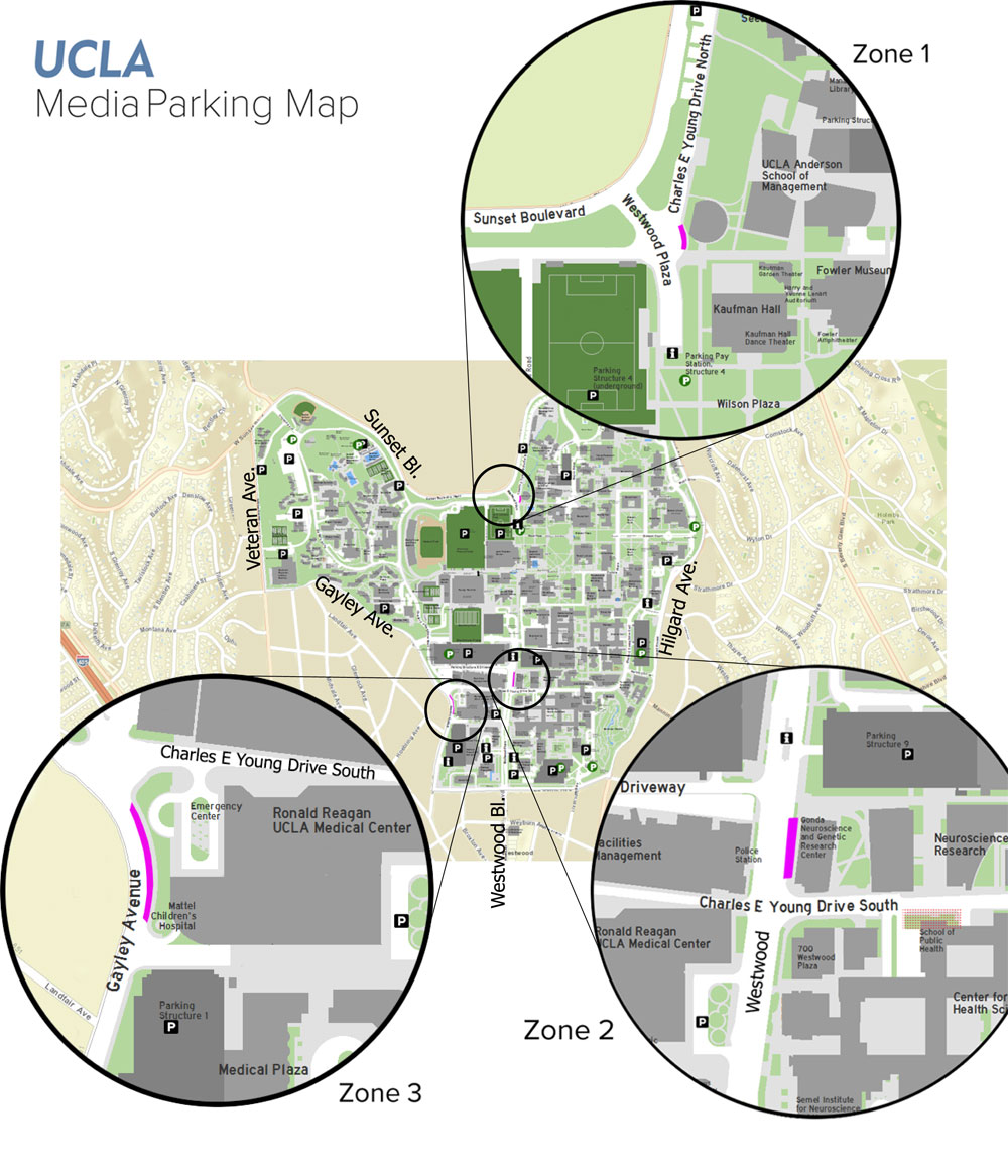 News van parking map