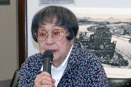 a story of a girl that witnessed and survived the hiroshima bombing during 1945 The first atomic bomb is dropped by a united states aircraft on the japanese city of hiroshima.