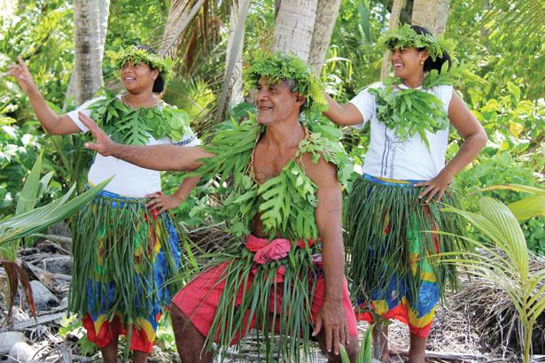 Pacific Islanders Dancing