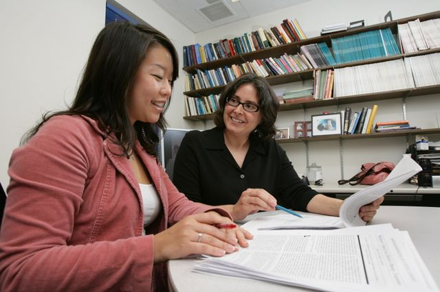 UCLA psychologists Traci Mann (right) and Janet Tomiyama analyzed 31 long-term studies on dieting.