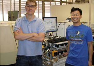 M3 graduate researchers