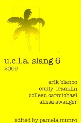 """""""U.C.L.A. Slang 6"""" cover"""