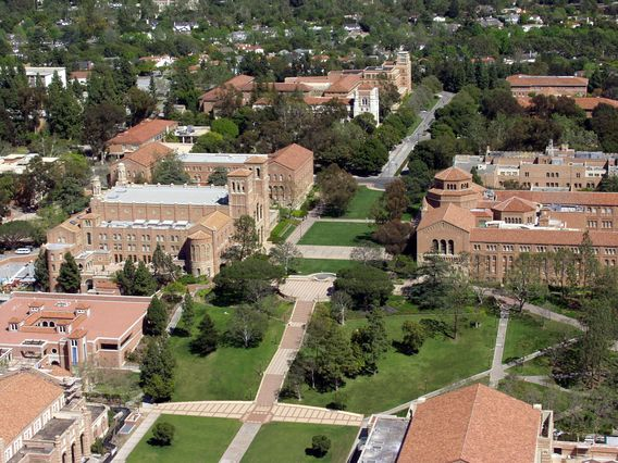 UCLA aerial view 2003