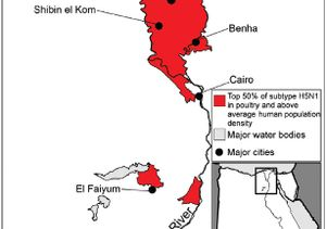 Hotspots in Egypt