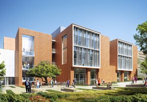 Click to open the large image: David Geffen School of Medicine Teaching and Education Building