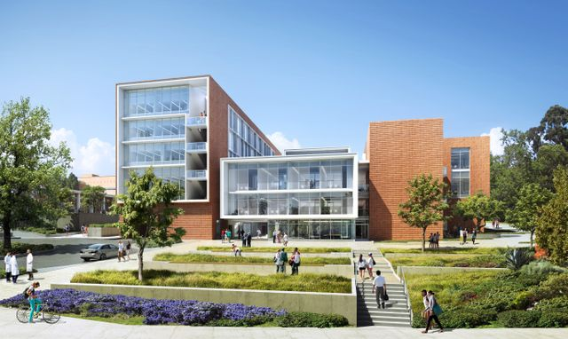 David Geffen School of Medicine Teaching and Education Building