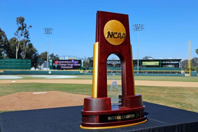 NCAA title trophy