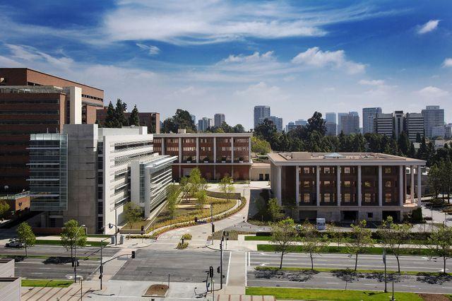 Stein Plaza at UCLA