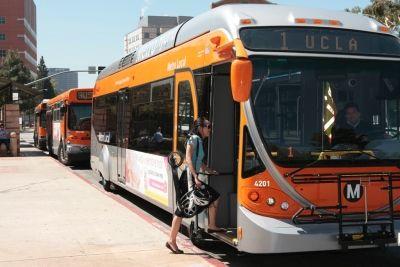Bruins using public transit