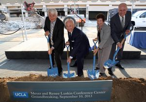 Click to open the large image: Shovels in the dirt