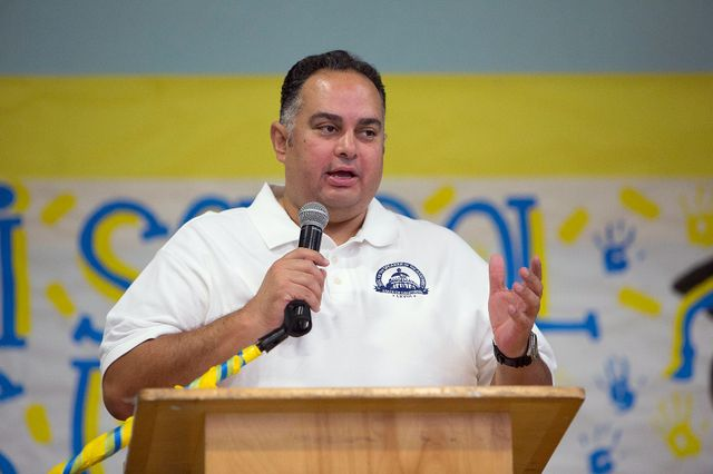 Speaker John Perez at Volunteer Day 2013