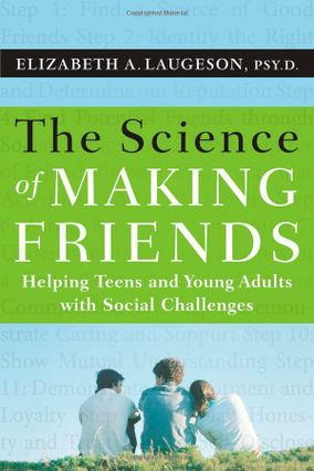 Let's be friends: Book, app help socially challenged youth