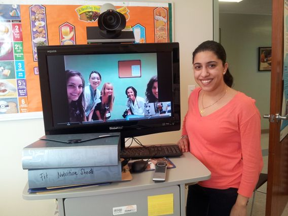 Fit for Healthy Weight telehealth station