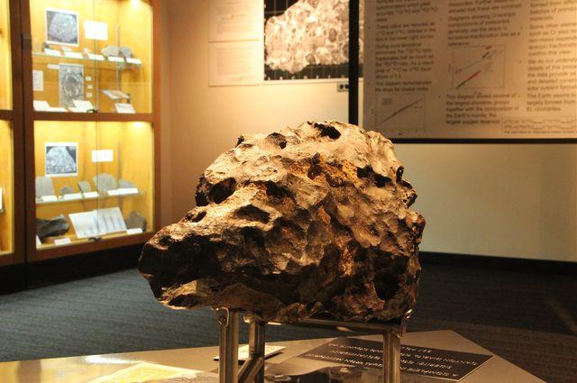 357-pound meteorite