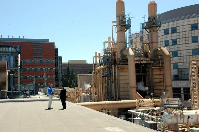 UCLA cogeneration plant