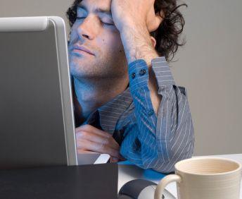 Sleeping with laptop