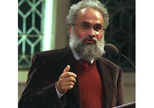 subramanyam at podium