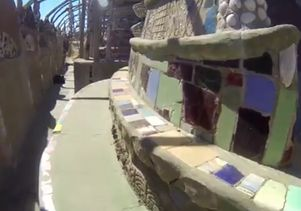 Click to open the large image: Watts Towers screenshot 2