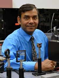 Professor Vijay Gupta in his lab