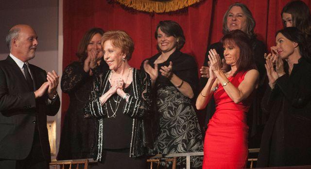 Carol Burnett at presentation at the John F. Kennedy Center