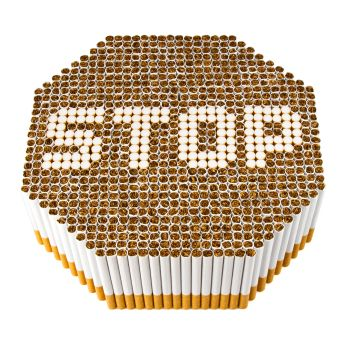 cigarette stop sign