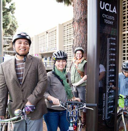 UCLA bike counter, square
