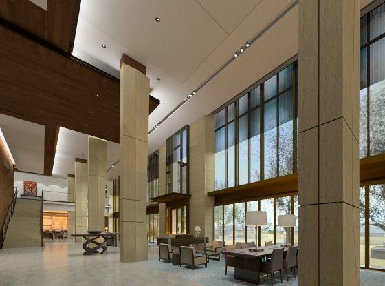 Luskin center-lobby-rendering