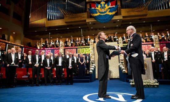 Schekman receives Nobel 550