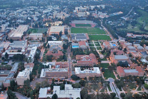 UCLA aerial photo