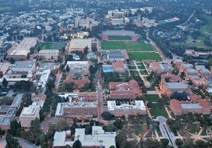 Click to open the large image: UCLA aerial photo