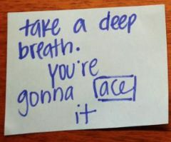 Positive Postit Note