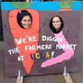 Out and About: Farmers market on Bruin Plaza