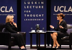 Hillary Clinton and Lynn Vavreck