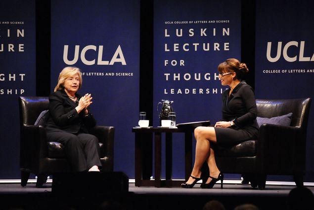 Hillary Clinton at UCLA